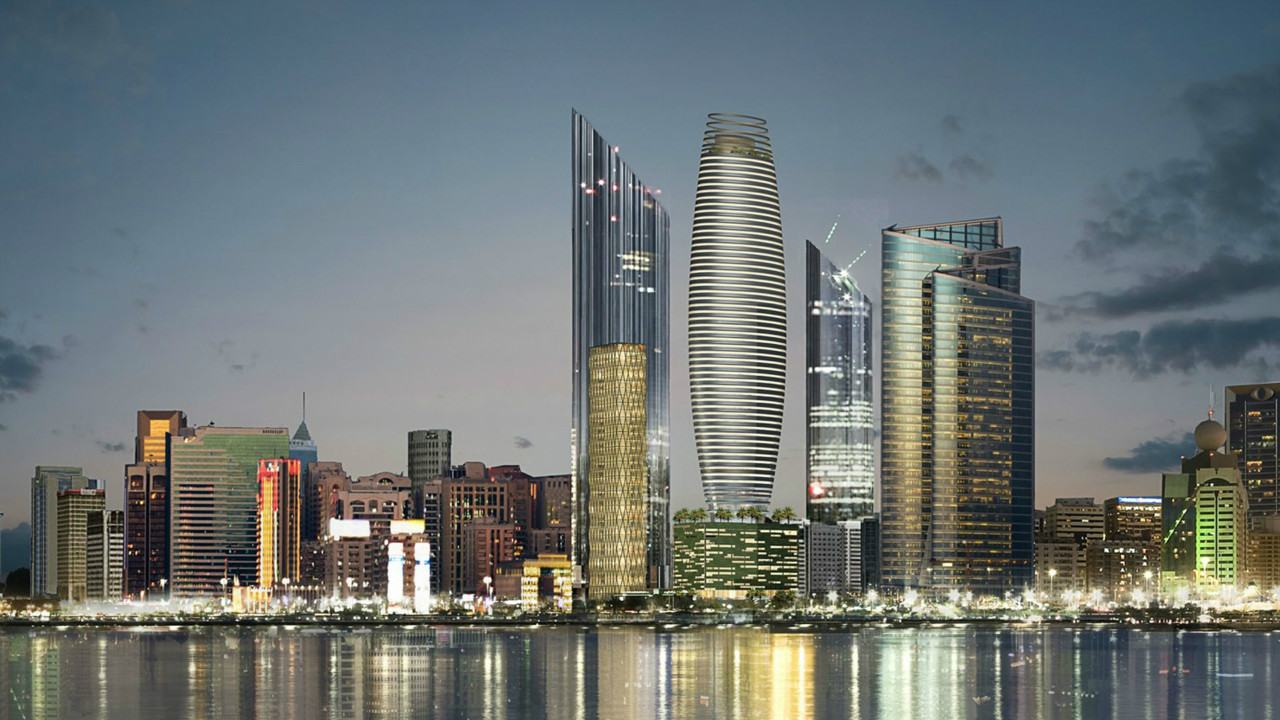 Abu Dhabi Concept Tower Project _ NORR Architects